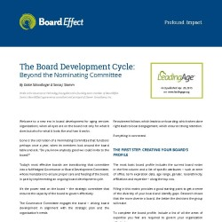 Board Development Cycle