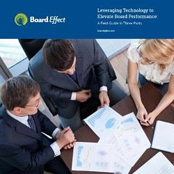 Leveraging Technology To Elevate Board Performance