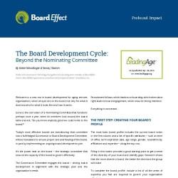 Board Development Cycle