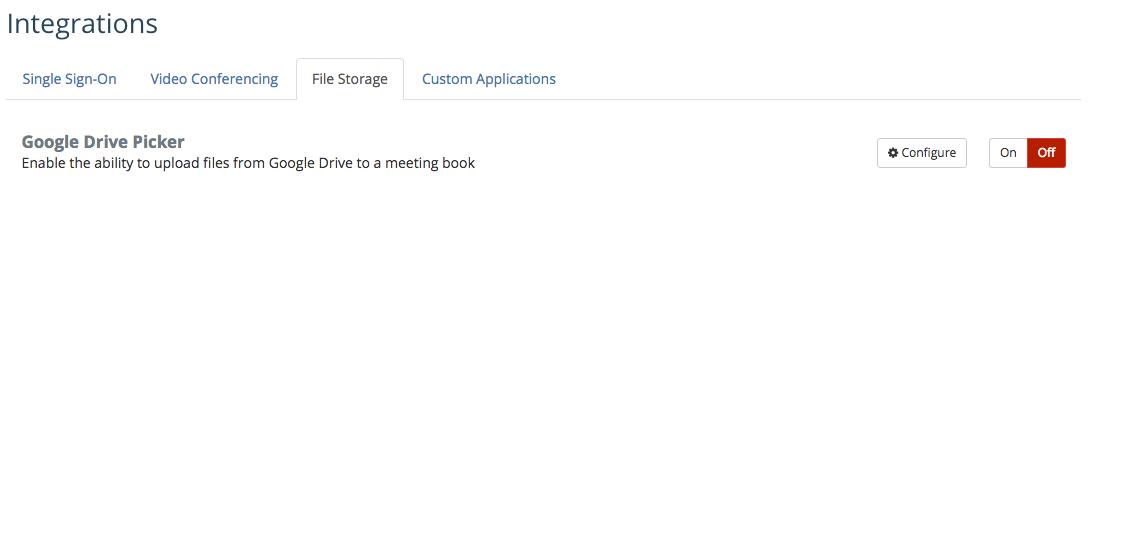 Google Drive: File Storage