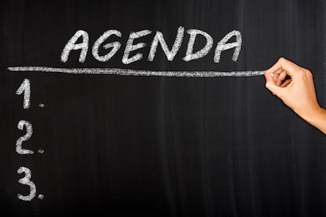 The Right Agenda For Your Nonprofit Board Of Directors Will Ensure A Productive Meeting
