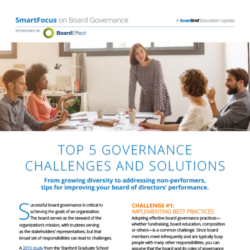 Top 5 Governance Challenges And Solutions