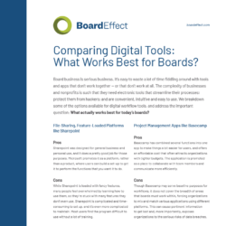 Comparing Digital Tools
