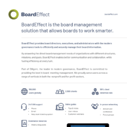 How BoardEffect Allows Boards To Work Smarter
