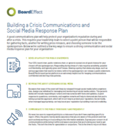 Building A Crisis Communications & Social Media Response Plan