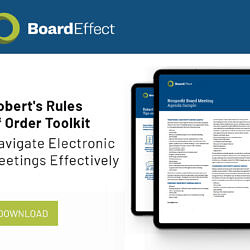 The Nonprofit's Guide To Robert's Rules Of Order