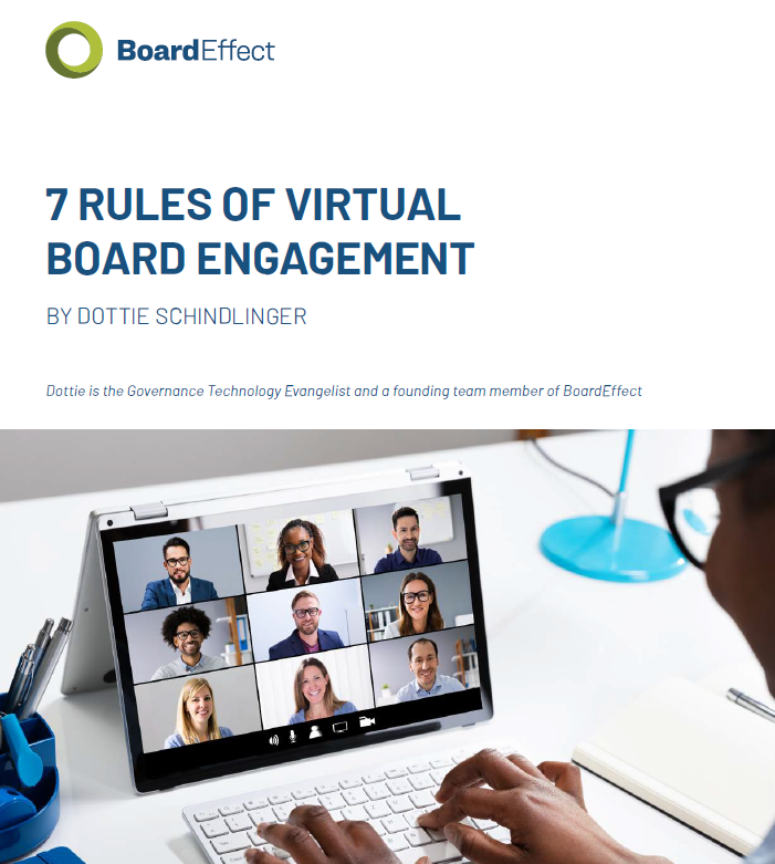 7 Rules of Virtual Board Engagement